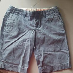 Grayish blue Bermuda shorts